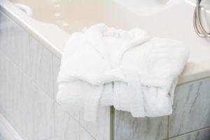 Wohlfühlatmosphäre Badezimmer