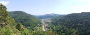 Panoramablick über das Eußerthal